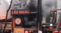 Clip: Cháy lớn tại nhà hàng lẩu nướng tại quận Cầu Giấy