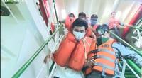 Cứu sống được 3 ngư dân trên tàu cá BĐ 97469
