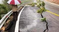 Bắc Tây Nguyên: Cầu trôi, đường sụt lún thiệt hại hàng trăm tỷ đồng