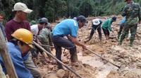 Quảng Bình: Phát hiện thi thể người dưới bãi đất đá sạt lở
