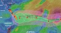 Thông tin mới về siêu bão Goni mạnh nhất năm 2020 đang tiến vào Biển Đông