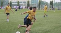 Những khoảnh khắc đẹp lượt trận cuối cùng vòng bảng Giải bóng đá Báo NTNN/Dân Việt