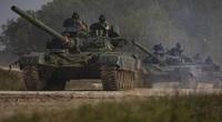 Ngỡ ngàng xe tăng Nga, Mỹ cùng xuất hiện trên một chiến trường