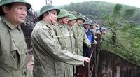 Bộ trưởng Bộ NNPTNT Nguyễn Xuân Cường: Hà Tĩnh chủ động cao trong ứng phó bão số 13