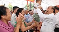 Thủ tướng Chính phủ Nguyễn Xuân Phúc dự Ngày hội Đại đoàn kết tại Hải Dương