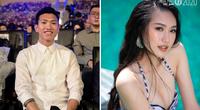 Đoàn Văn Hậu ôm bạn gái tin đồn lọt tốp 10 Hoa hậu Việt Nam 2020