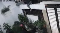 CLIP: Trộm trèo vào nhà lấy cắp cây cảnh