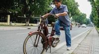 Xe máy cổ Georges Catte gần 70 tuổi vẫn chạy bon bon trên đường