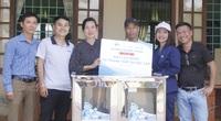 Máy lọc nước sạch đến với học sinh Quảng Trị