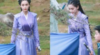 """""""Nữ hoàng thảm đỏ"""" Trung Quốc diễn cảnh đánh nhau như tập múa, dân mạng không ngừng mỉa mai"""