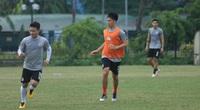 Tân binh Geovane ra mắt, Đình Trọng trở lại tập luyện cùng Hà Nội FC