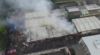 Phú Thọ: Cháy lớn tại Công ty giấy Việt Trì, công nhân hốt hoảng bỏ chạy