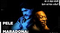 Pele và Maradona: Ai vĩ đại nhất lịch sử túc cầu?