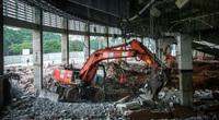 Cận cảnh thi công dự án 150 tỷ đồng tu sửa sân vận động Mỹ Đình