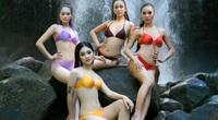 """Thí sinh Miss Tourism Vietnam 2020 mặc bikini quyến rũ """"đốt mắt"""" khoe dáng"""