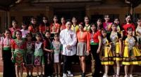 Hà Trần - Tùng Dương góp mặt tại sự kiện bàn giao trường học Sơn La