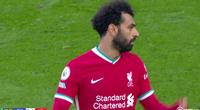 Bị thay ra sân sớm, Salah lầm lì, vùng vằng với HLV Klopp