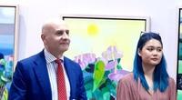 """""""Vườn địa đàng"""" của nữ họa sĩ Trịnh Cẩm Nhi - nơi giao hòa nghệ thuật Việt Nam và Italia"""
