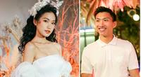 Mỹ nhân 19 tuổi mặc váy cưới trễ vai quyến rũ hút mắt, Đoàn Văn Hậu công khai tình cảm?