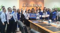 Công đoàn Ngân hàng Eximbank hỗ trợ nhân viên miền Trung sau trận lũ chồng lũ vừa qua
