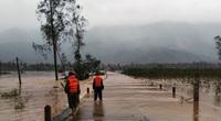Bình Định: Hơn 1.000 nhà dân bị ngập, huyện trung du Hoài Ân thiệt hại nặng nề do lũ lớn