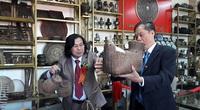 Bảo tàng nông cụ với hơn 4.000 hiện vật của Tiến sĩ văn học tại Hà Tĩnh