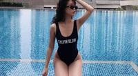 """Ngọc Thảo mặc bikini khoe vóc dáng """"hot girl số 1 Sài thành"""""""