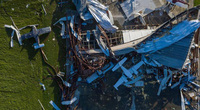 Những bức ảnh thể hiện sự tàn khốc của bão lũ năm 2020