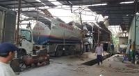 Gia Lai: Xe bồn chở xăng phát nổ, 3 người bị thương nặng