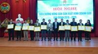 TT-Huế: Gần 180.000 lượt hộ nông dân được nhận danh hiệu sản xuất kinh doanh giỏi