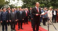 Đoàn Đại hội đại biểu toàn quốc các dân tộc thiểu số Việt Nam dâng hương tưởng niệm các Vua Hùng