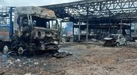 Xe chở pháo ở Lào phát nổ, 2 người chết, 4 người Việt bị thương