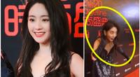 """Mỹ nhân Trung Quốc gây """"sốt"""" vì sự cố rơi tóc giả trên thảm đỏ, dân mạng """"cười ngất"""""""