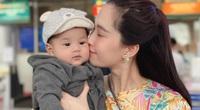 """Hoa hậu Đặng Thu Thảo """"khoe"""" con trai 7 tháng tuổi"""