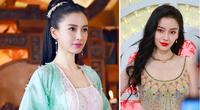 "Mỹ nhân phim cổ trang Trung Quốc mặc váy quyến rũ hút mắt bất chấp ảnh ""chụp lén"", fan ngất ngây"