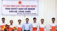 Ninh Thuận: Bổ nhiệm, phân công nhiều cán bộ chủ chốt