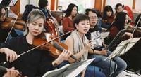 Uyên Linh, Phạm Anh Khoa miệt mài tập luyện cho đêm nhạc The Beatles Symphony