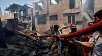 Những hình ảnh đau thương vì chiến tranh, đấu súng triền miên trên thế giới năm 2020