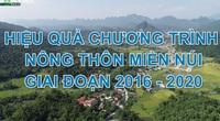 Tọa đàm trực tuyến với chủ đề: Hiệu quả chương trình Nông thôn miền núi giai đoạn 2016-2020