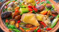 Cách nấu lẩu gà đậm đà thơm ngon đúng điệu