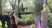 Có 35 tượng đài Chủ tịch Hồ Chí Minh ở 22 quốc gia