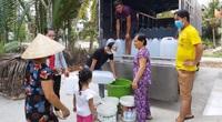 Làm báo cùng Dân Việt: Mát lòng từ những chuyến xe chở đầy nước ngọt