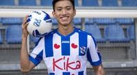 Bầu Hiển im lặng, SC Heerenveen lo sốt vó về tương lai Đoàn Văn Hậu