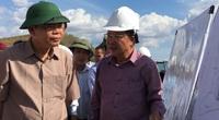 """Bộ trưởng Bộ NNPTNT Nguyễn Xuân Cường kiểm tra đại dự án chống hạn Tân Mỹ tại """"chảo lửa"""" Ninh Thuận"""