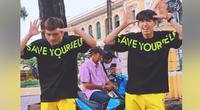 """Clip Quang Đăng nhảy """"vũ điệu bỏ thuốc lá"""" sau vũ điệu rửa tay nhạc """"Ghen cô Vy"""" gây sốt toàn cầu"""