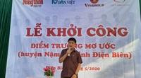 Khởi công điểm trường mơ ước ở xã vùng cao giáp Lào