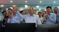 Chùm ảnh: Thủ tướng thăm công nhân mỏ Hà Lầm, Quảng Ninh