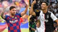 BXH Chiếc giày vàng châu Âu: Ronaldo, Messi xếp thứ mấy?