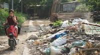 Người dân Thủ đô khốn khổ vì bãi tập kết rác tự phát giữa khu dân cư