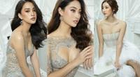 Trần Tiểu Vy, Đỗ Mỹ Linh, Lương Thùy Linh mặc váy xuyên thấu đẹp như công chúa hút ánh nhìn